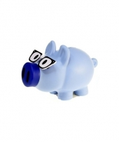 Spaarvarken blauw trend 10081777