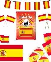 Spanje thema artikelen pakket trend