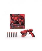 Speel geweer 18 cm met foam kogels trend