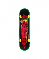 Speel skateboard rood groen trend