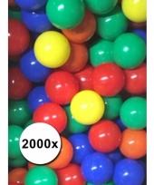 Speelballen voor de ballenbak 2000 stuks trend
