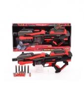Speelgeweer 54 cm met foam kogels trend