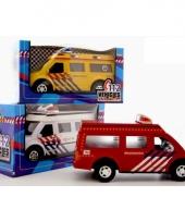 Speelgoed 112 auto politie trend