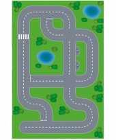 Speelgoed autowegen stratenplan wegplaten dorpje xl set karton trend