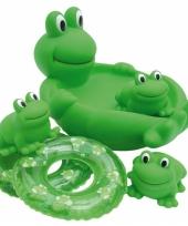 Speelgoed bad kikkers 4 stuks trend