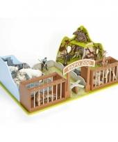 Speelgoed dierentuin van plastic trend