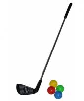 Speelgoed golfclub met 4 ballen trend