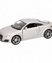 Speelgoed grijze audi tt 2014 coupe auto 12 cm trend