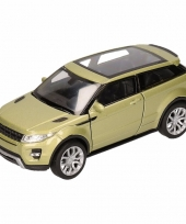 Speelgoed groene land range rover evoque auto 1 36 trend