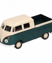 Speelgoed groene volkswagen t1 pick up auto 1 36 trend