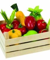 Speelgoed groenteboer kistje trend