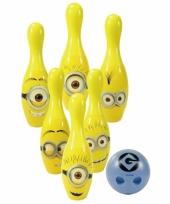 Speelgoed kegelset minions trend