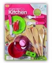 Speelgoed keuken gerei 10 delig trend