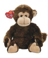 Speelgoed knuffel aap 15 cm trend