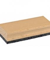 Speelgoed krijtbord wisser van hout trend 10084381