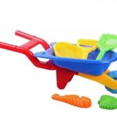 Speelgoed kruiwagentje 6 delig trend