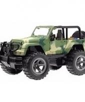 Speelgoed legergroen camouflage leger print jeep wrangler auto 2 trend