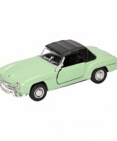 Speelgoed mint mercedes benz 190sl 1955 dichte cabrio 15 cm trend