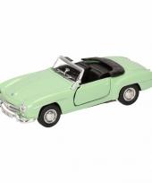 Speelgoed mint mercedes benz 190sl cabrio 15 cm trend