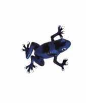 Speelgoed pijl gifkikker blauw 5 cm trend