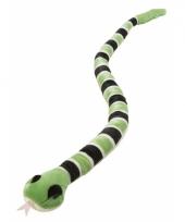 Speelgoed pluche slang groen trend