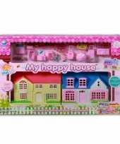 Speelgoed poppenhuisjes met accessoires trend