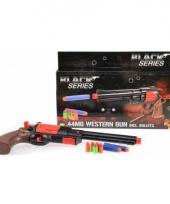 Speelgoed revolver met foam kogels trend