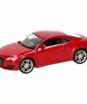 Speelgoed rode audi tt 2014 coupe auto 12 cm trend