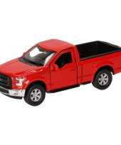 Speelgoed rode ford f 150 auto 12 cm trend