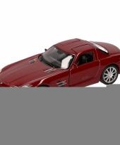 Speelgoed rode mercedes sls amg 11 5 cm trend