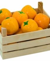 Speelgoed sinaasappel met kist trend