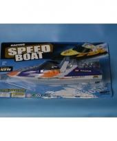 Speelgoed speedboot 27 cm trend