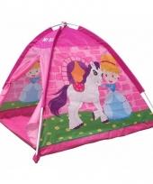 Speelgoed tentje pony en prinses roze trend
