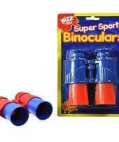 Speelgoed verrekijker rood blauw voor kinderen trend