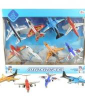 Speelgoed vliegtuigen set trend