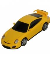 Speelgoed voertuigen porsche geel trend