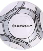 Speelgoed voetbal wit grijs 21 cm voor kinderen volwassenen trend
