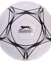 Speelgoed voetbal wit zwart 21 cm voor kinderen volwassenen trend