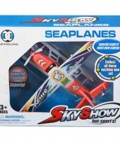 Speelgoed watervliegtuig 24 cm trend