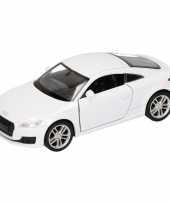 Speelgoed witte audi tt 2014 coupe auto 12 cm trend