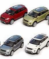Speelgoed witte land range rover evoque auto 1 36 trend