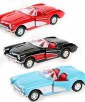 Speelgoedauto chevrolet corvette 1957 cabrio trend