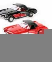 Speelgoedauto chevrolet corvette 1957 trend