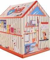 Speeltent speelhuis dierenkliniek 102 cm trend