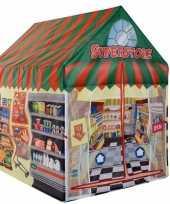 Speeltent speelhuis supermarkt 102 cm trend