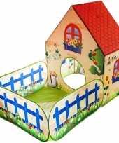 Speeltent speelhuis tuinhuis 150 x 90 x 110 cm trend