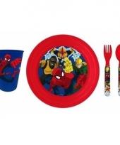 Spiderman 3 delig kinderservies trend