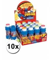 Spiderman bellenblazen voor kinderen 10x trend