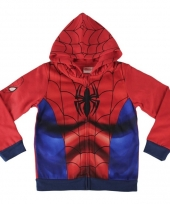 Spiderman hooded sweatshirt trend