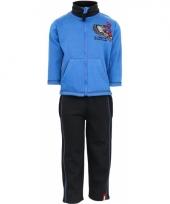 Spiderman joggingpak blauw trend